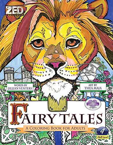 9781944464004: Fairy Tales: A Coloring Book for Adults, A We Time Series Level 4