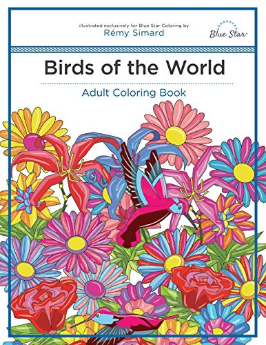 9781944515041: Adult Coloring Book: Birds of the World
