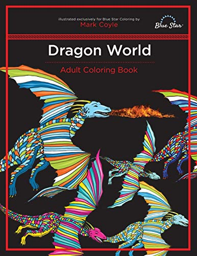 9781944515058: Adult Coloring Book: Dragon World