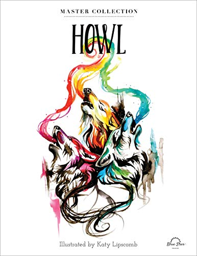 9781944515690: Howl: Stress Relieving Adult Coloring Book, Master Collection