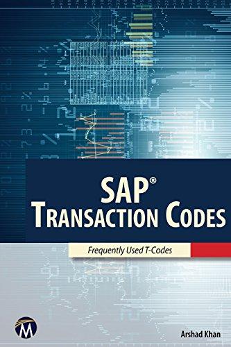 SAP: Transaction Codes: A. Khan