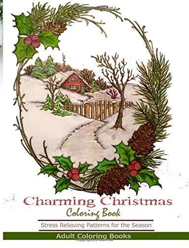 9781944575007: Charming Christmas Coloring Books: Adult Coloring Books Featuring Charming Christmas Designs