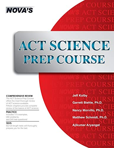 9781944595029: ACT Science Prep Course: Six Full-length Tests!