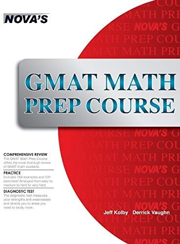 9781944595241: GMAT Math Prep Course