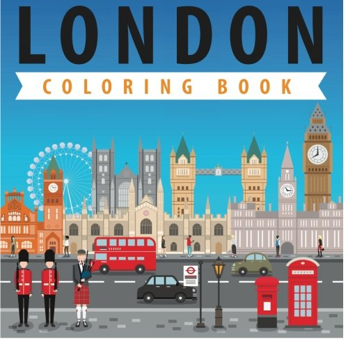 London Coloring Book: Coloring Pages for Kids
