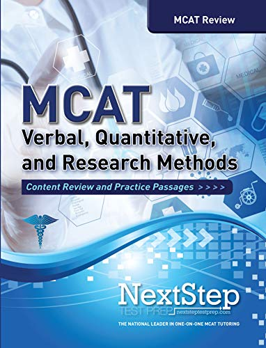 9781944935221: MCAT Verbal, Quantitative, and Research Methods: Content Review and Practice Passages
