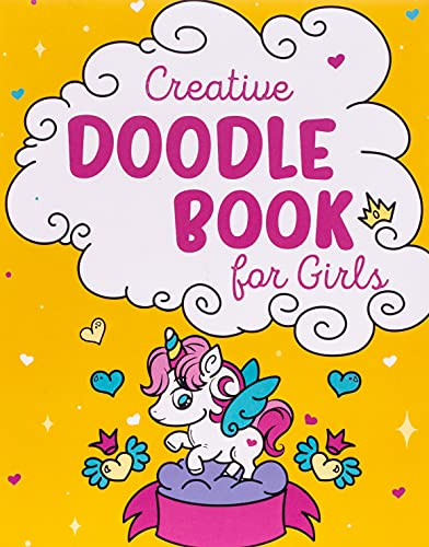 9781945006975: Creative Doodle Book for Girls: Learn How to Draw Amazing Doodles and Let Your Creativity Flow; Arts and Crafts Supplies for Kids - Drawing Pad and ... Gifts for Unicorn Girls (Prodigy Gift Series)