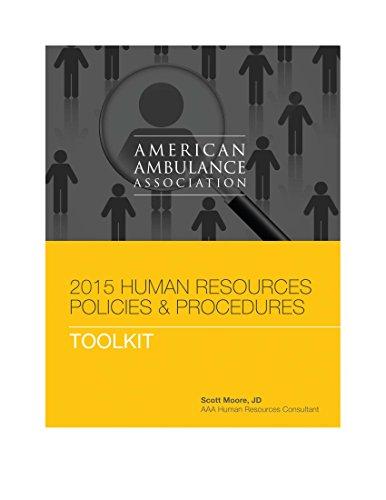 9781945045028: 2015 American Ambulance Association Human Resources Manual