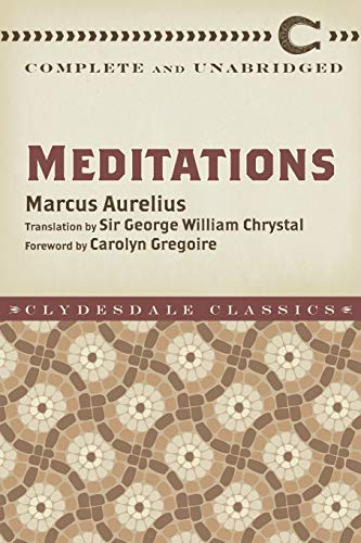 Meditations Format: Paperback: Marcus Aurelius; Translated