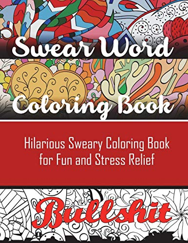 Swear Word Coloring Book Hilarious Sweary Adult