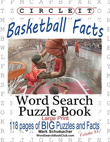 9781945512193: Circle It, Basketball Facts, Word Search, Puzzle Book