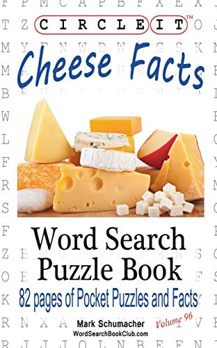 9781945512223: Circle It, Cheese Facts, Word Search, Puzzle Book