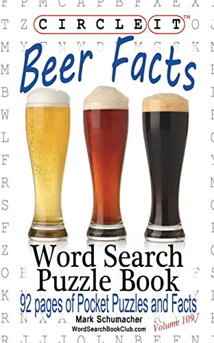 9781945512384: Circle It, Beer Facts, Word Search, Puzzle Book
