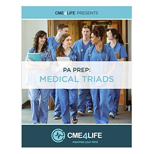 9781945664113: PA Prep : Medical Triads