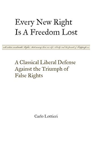 Every New Right Is A Freedom Lost: Lottieri, Carlo