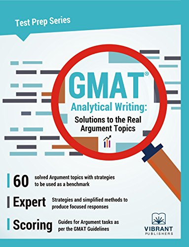 9781946383570: GMAT Analytical Writing: Solutions to the Real Argument Topics (Test Prep Series)