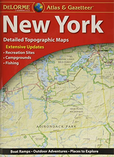 9781946494122: DeLorme® New York Atlas & Gazetteer (New York State Atlas & Gazetteer)