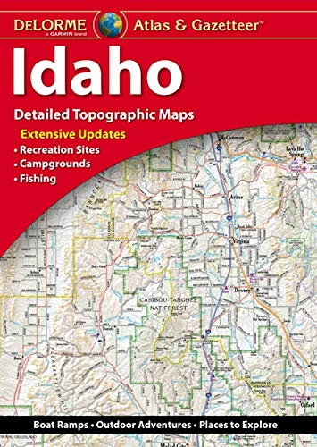 9781946494191: Delorme Atlas & Gazetteer: Idaho