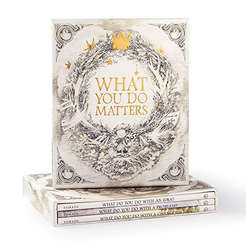 What You Do Matters: What Do You Do With a Chance?, What Do You Do With a Problem?, What Do You Do With an Idea? 9781946873149  Discover the amazing things that happen when you nurture your bright ideas, face your problems, and take bold chances. This collection