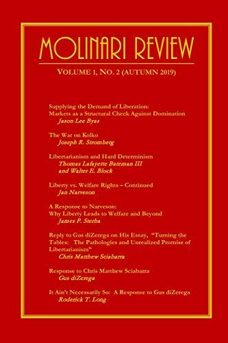 Molinari Review Volume 1, No. 2 (Autumn: Long, Roderick T.;