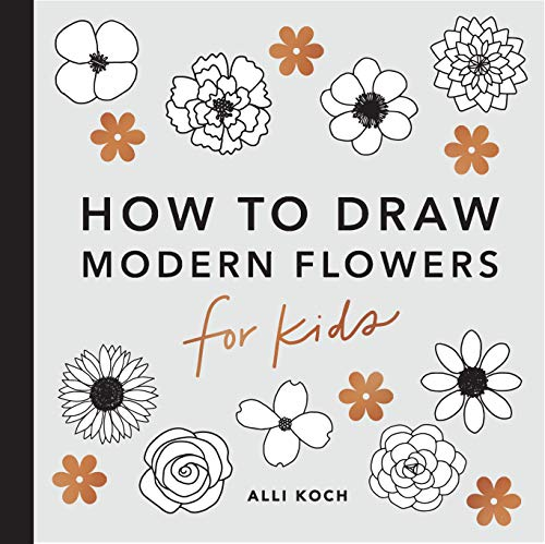 9781950968213: How to Draw Modern Florals for Kids