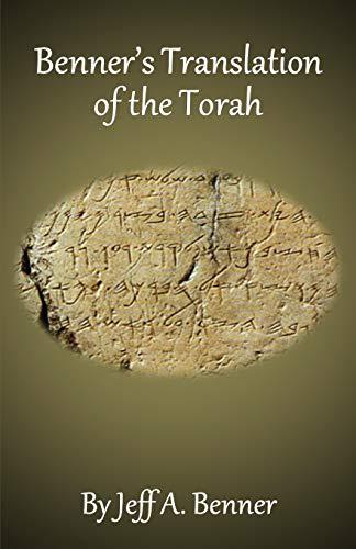 9781951985554: Benner's Translation of the Torah