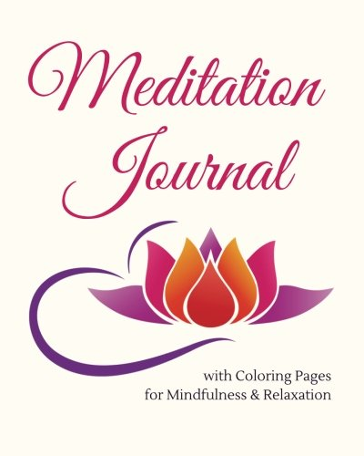Meditation Journal with Coloring Pages for Mindfulness: Make Sense Coloring