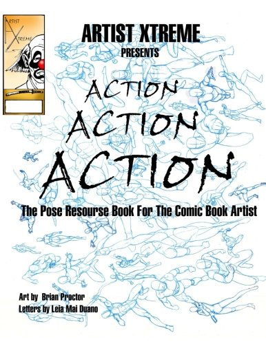 action book (Learn to draw) (Volume 1): Proctor, Brian
