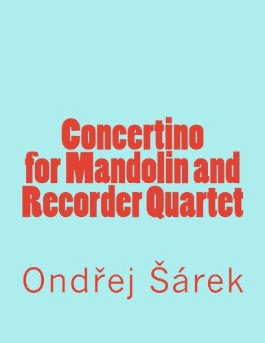 9781973806097: Concertino for Mandolin and Recorder Quartet