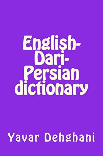 dictionary english persian - AbeBooks