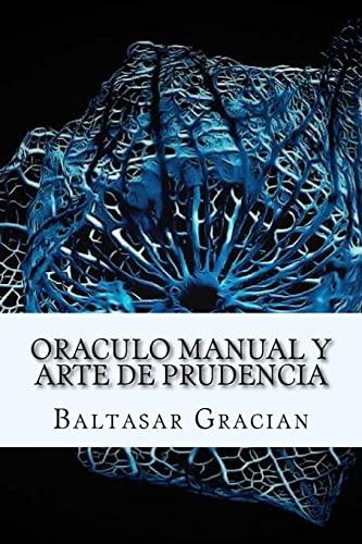 9781973922230: Oraculo Manual y Arte de Prudencia (Spanish) Edition