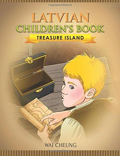 Latvian Children's Book: Treasure Island: Cheung, Wai