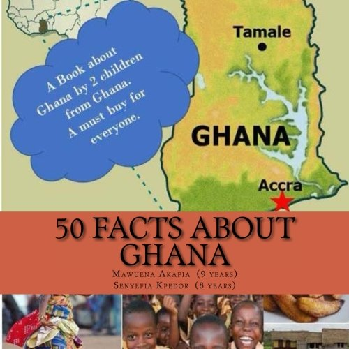 50 Facts about Ghana (Paperback or Softback)