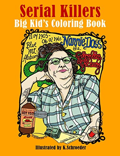 9781974239009: Serial Killers: Adult Coloring Book