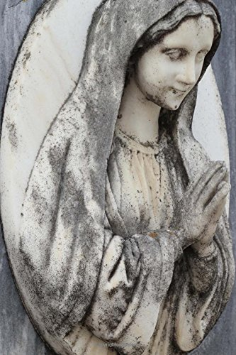 Lovely Weathered Virgin Mary Carving Journal: 150: Creations, Cs