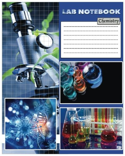 """Lab Notebook: Chemistry Laboratory Notebook 100Pages 8x10"""" For Research, College, Science ..."""