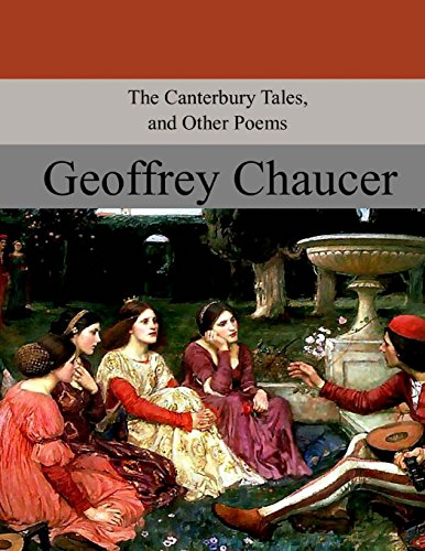 9781974464852: The Canterbury Tales, and Other Poems