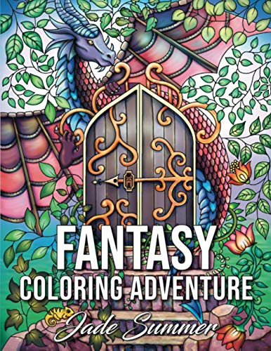 Fantasy Coloring Adventure: A Magical World of Fantasy Creatures, Enchanted Animals, and Whimsical ...