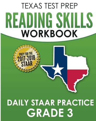 9781974541539: TEXAS TEST PREP Reading Skills Workbook Daily STAAR Practice Grade 3: Preparation for the STAAR Reading Assessment
