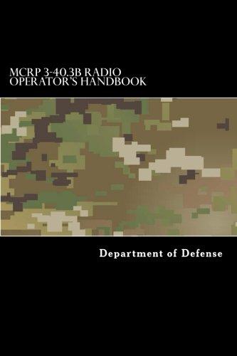 MCRP 3-40.3B Radio Operator's Handbook: Department of Defense