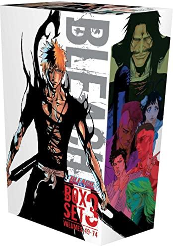 9781974703197: Bleach Box Set 3: Includes vols. 49-74 with Premium (3) (Bleach Box Sets)