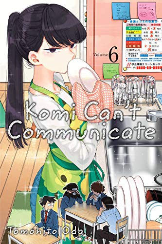 9781974707171: Komi Can't Communicate, Vol. 6