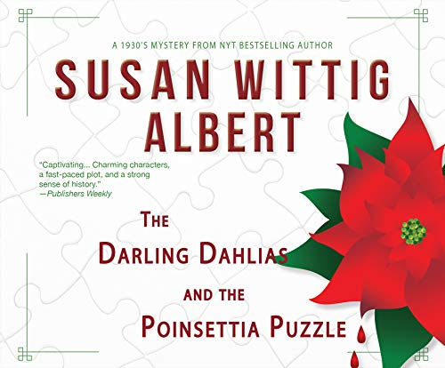 Book Cover: The Darling Dahlias and the Poinsettia Puzzle