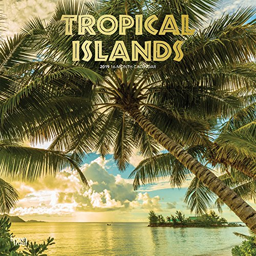 Tropical Islands 2019 12 x 12 Inch: BrownTrout Publishers, Inc.