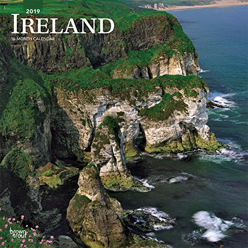 Ireland 2019 12 x 12 Inch Monthly: BrownTrout Publishers, Inc.