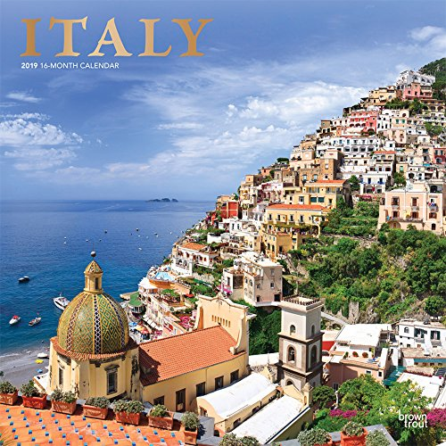 Italy 2019 12 x 12 Inch Monthly: BrownTrout Publishers, Inc.