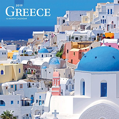 Greece 2019 12 x 12 Inch Monthly: BrownTrout Publishers, Inc.