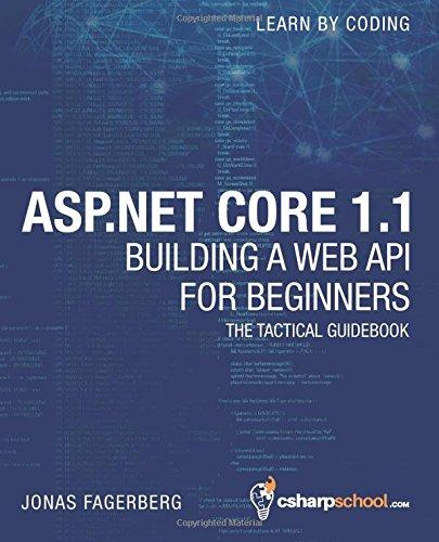 ASP.NET Core 1.1 Web API For Beginners: How to Build A Web API (Volume 2): Jonas Fagerberg