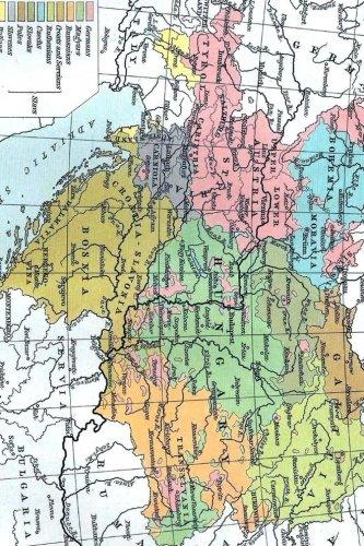 Austria, Hungary, Transylvania Map Journal: Take Notes,: Journal, Map Lovers