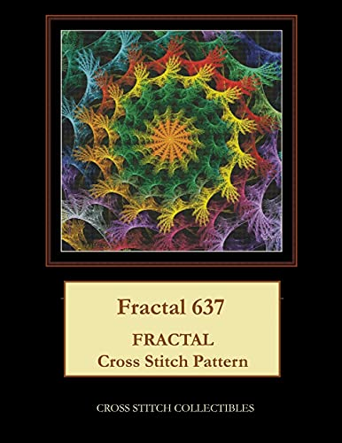 Fractal 637: Fractal cross stitch pattern: Cross Stitch Collectibles